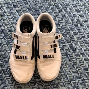 OFF THE WALL VANS (WORN ONCE) SIZE 7.5